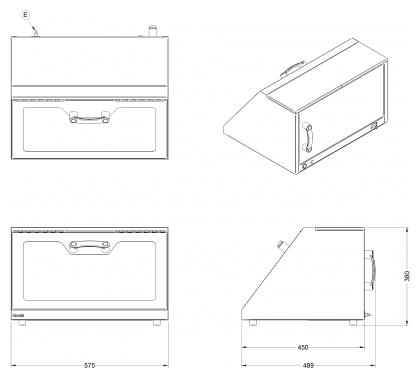 The UV Confidence Box - Dimensions